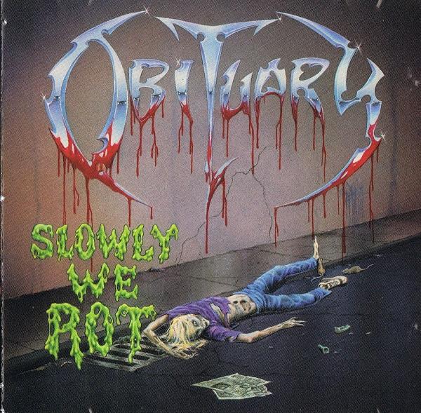 Obituary - Slowly We Rot, CD