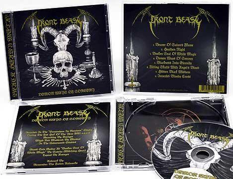 Front Beast - Demon Ways Of Sorcery, CD