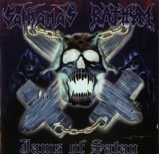 Sathanas/Bathym - Jaws Of Satan, CD