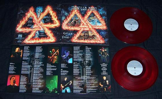 Manilla Road - Gates Of Fire [red - 250], 2LP