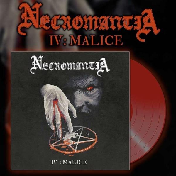 Necromantia - IV : Malice [red - 250], LP