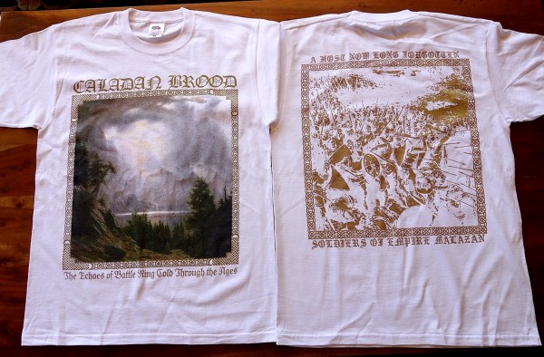 Caladan Brood - Echoes of Battle [white], TS