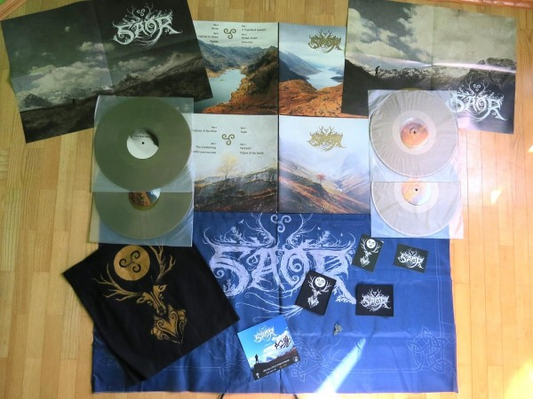 Saor - Roots + Aura [DIE HARD - 277], 2x2LP