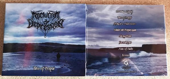 Nocturnal Depression - Tides Of Despair, DigiCD