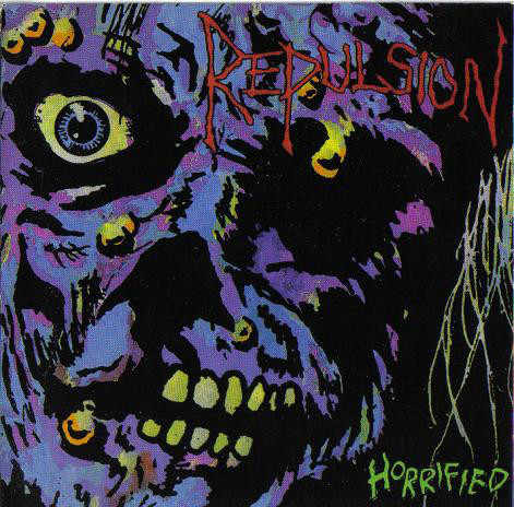 Repulsion - Horrified, CD