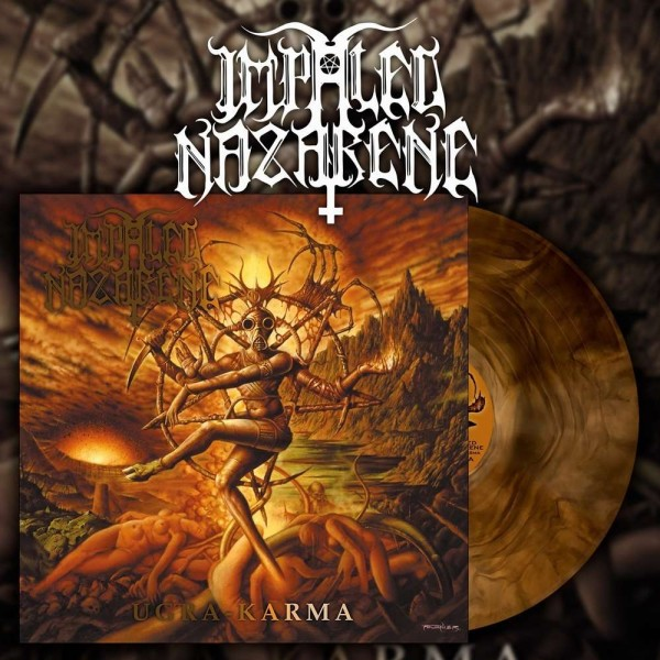 Impaled Nazarene - Ugra Karma [orange galaxy vinyl], LP