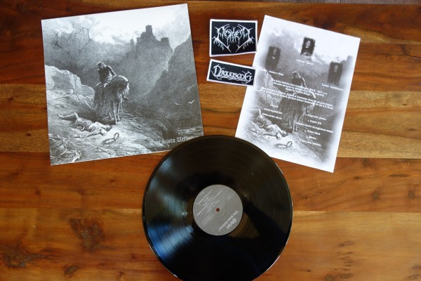 Draugsang/Mörker - Split [+ patches], LP