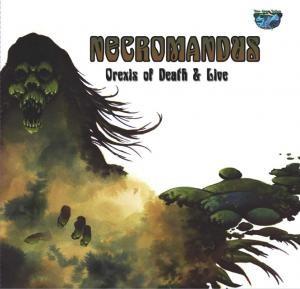 Necromandus - Orexis Of Death & Live, SC-CD