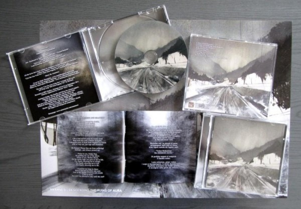 Anamnesi - Descending The Ruins Of Aura, CD