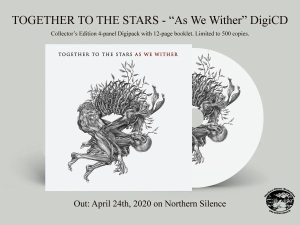 Together To The Stars - As We Wither, DigiCD