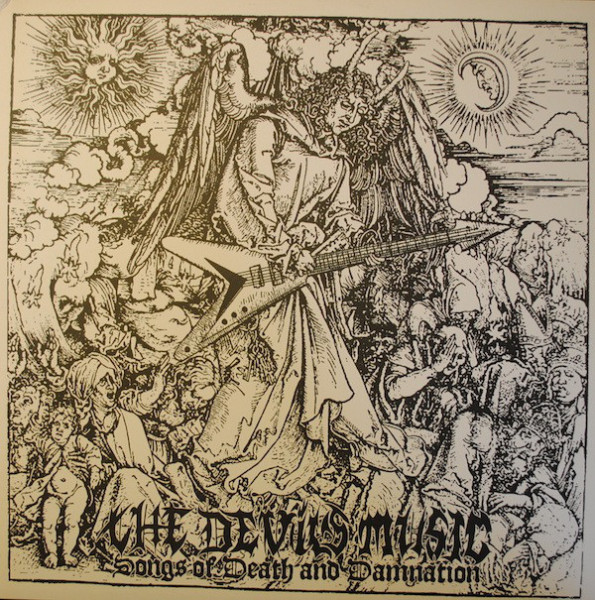 Horned Almighty - The Devil's Music [black - 666], LP