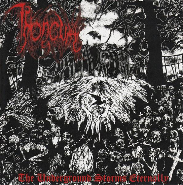 Throneum - The Underground Storms Eternally, CD