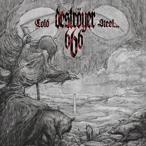 Destroyer 666 - Cold Steel...For An Iron Age [red - 500], LP