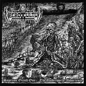 "Necroccultus - Supreme Occult One...The Underworld Abhorrence, 7"""