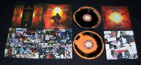 While Heaven Wept - The Arcane Unearthed [orange/black], 2LP