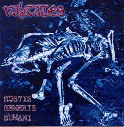 Vilkates - Hostis Generis Humani [blue], 2LP
