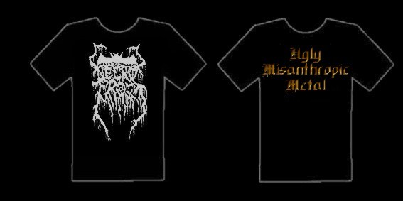 Necrofrost - Ugly Misanthropic Metal [S], TS