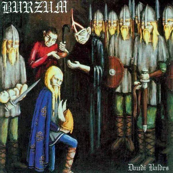 Burzum - Dauði Baldrs, SC-CD