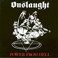 Onslaught - Power From Hell, CD