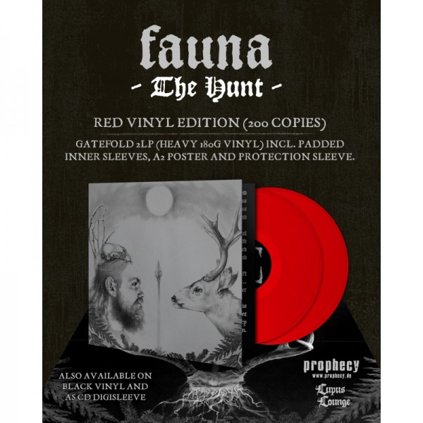 Fauna - The Hunt [red - 200], 2LP