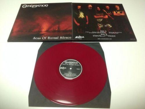 Exhumation (Grc) - Seas Of Eternal Silence [red - 250], LP