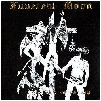 Funereal Moon - Evil Night Of Heresy, CD