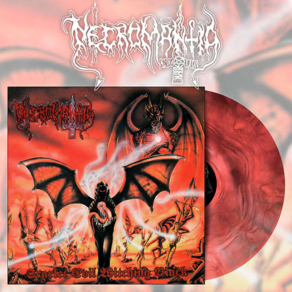 Necromantia - Scarlet Evil Witching Black [red/black marble - 500], LP