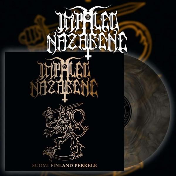 Impaled Nazarene - Suomi Finland Perkele [gold/black galaxy - 500], LP