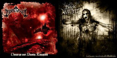 "Black Winter/Nethescerial - Split, 7"""