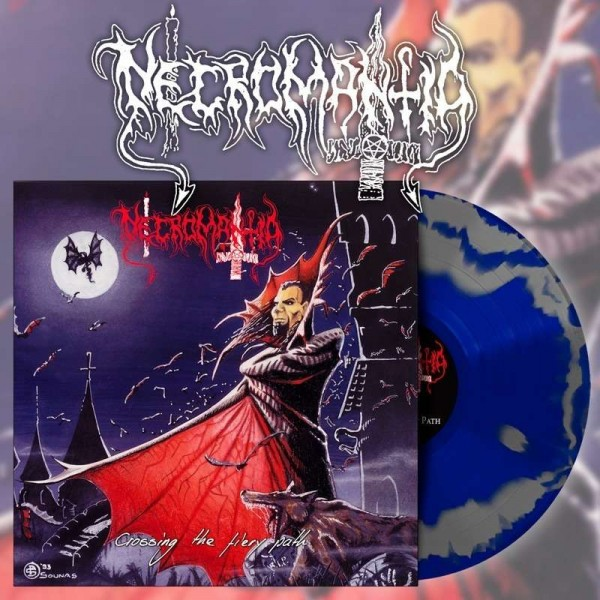 Necromantia - Crossing The Fiery Path [blue/silver - 300], LP