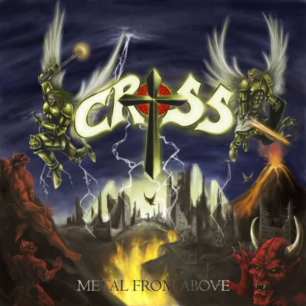 Cross - Metal From Above, CD