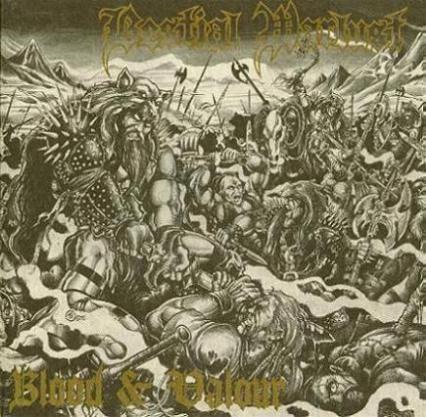Bestial Warlust - Blood & Valour, CD